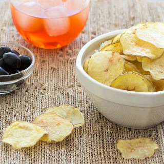 Make healthy, homemade potato chips in the microwave- no oil or deep frying needed. A cheaper, low-fat and easy snack alternative to store bought.