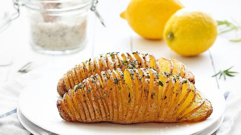 baked hasselback potatoes as easy as apple pie