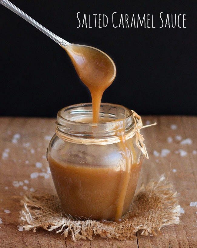 Easy Salted Caramel Sauce