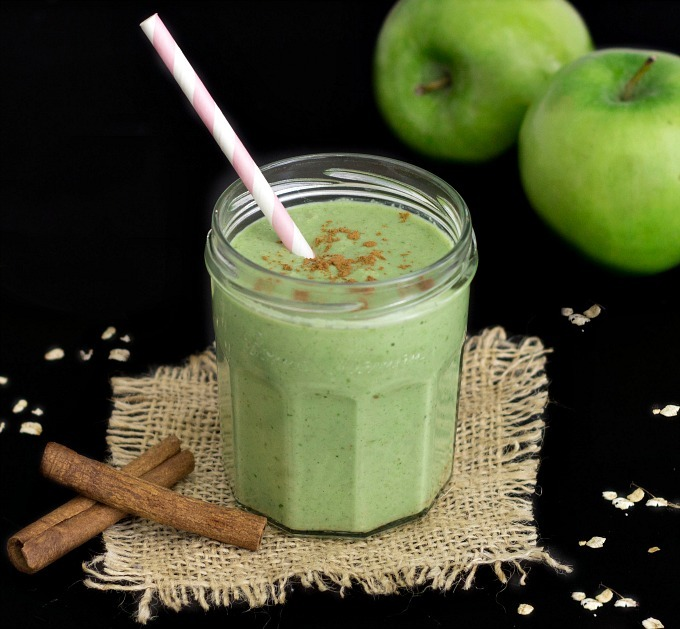 Green Apple Pie Smoothie - As Easy As Apple Pie