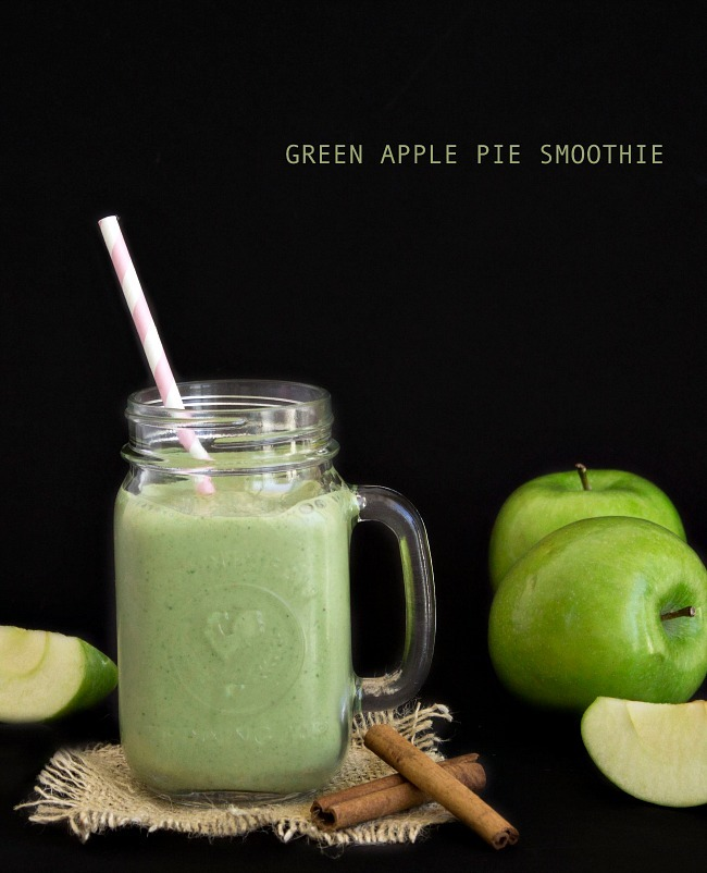 Green Apple Smoothie Recipe — Dishmaps