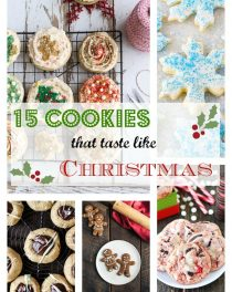 15 Christmas Cookie Recipe