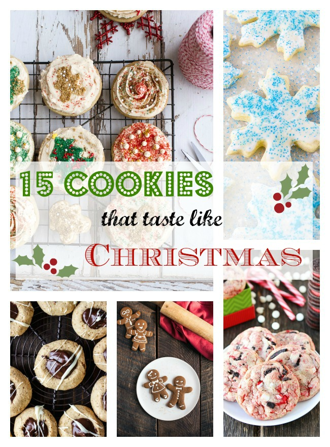 15 Christmas Cookie Recipes As Easy As Apple Pie