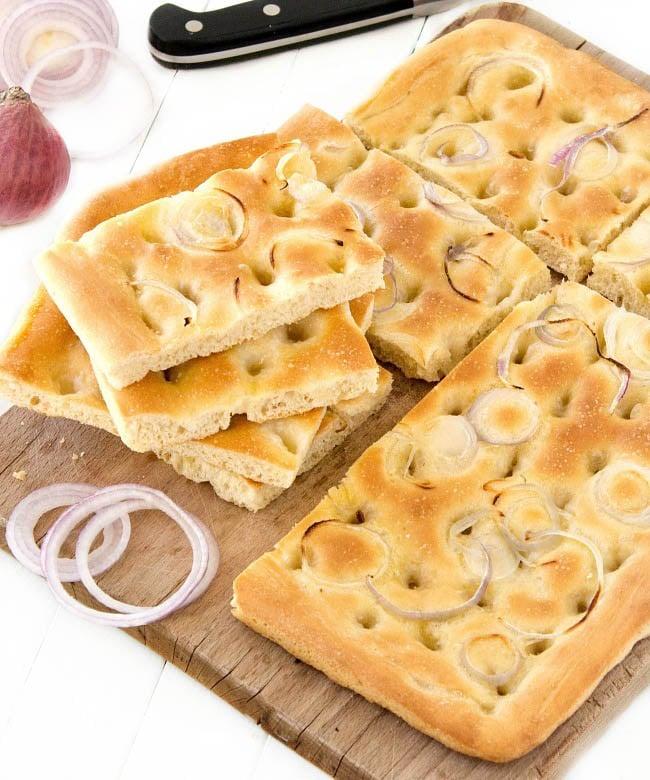 how to make italian focaccia
