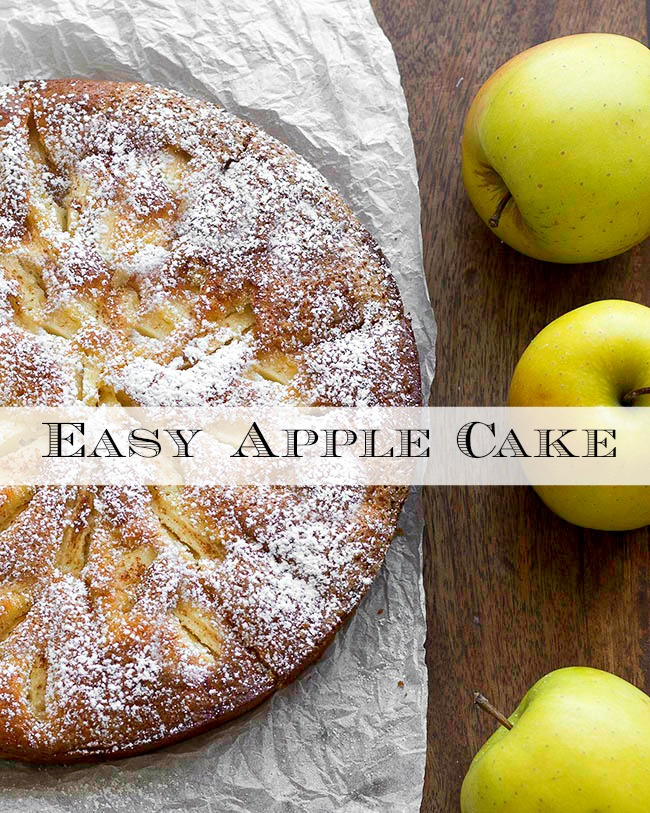 Simple Apple Cake From Scratch