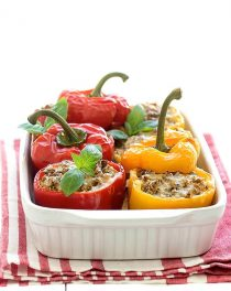 quinoa stuffed bell peppers