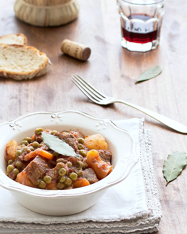 slow cooker italian beef stew