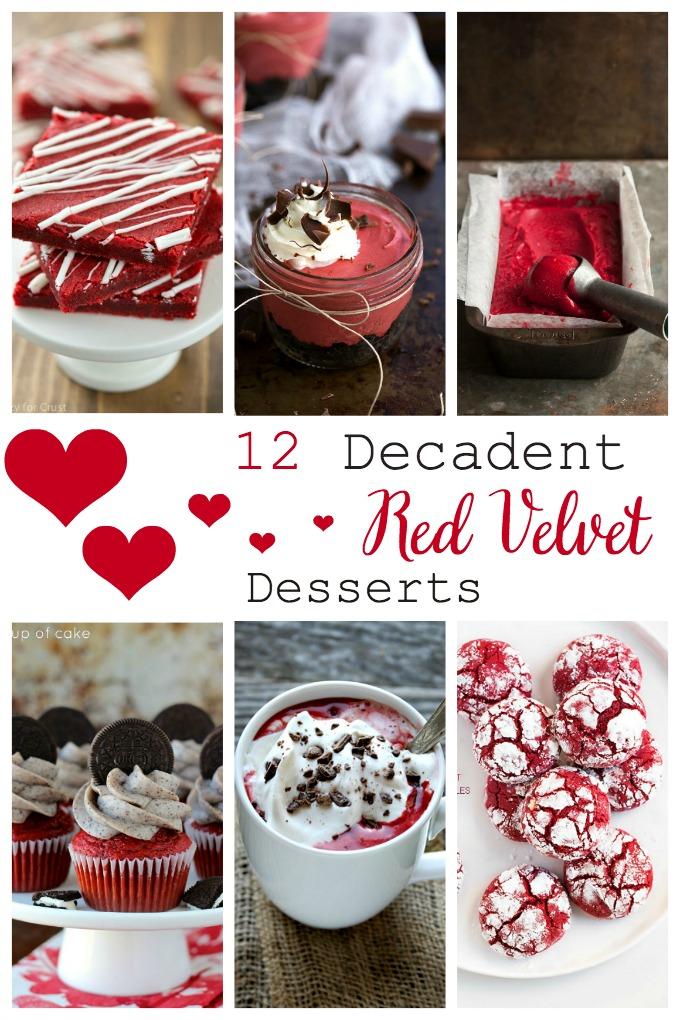 12 decadent red velvet desserts