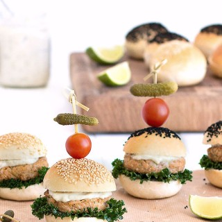 baked salmon burgers