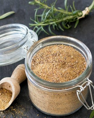 homemade vegetable stock powder