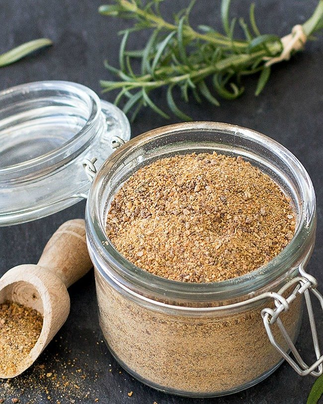 homemade vegetable stock powder