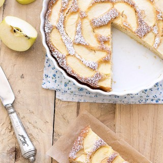 low fat apple cake