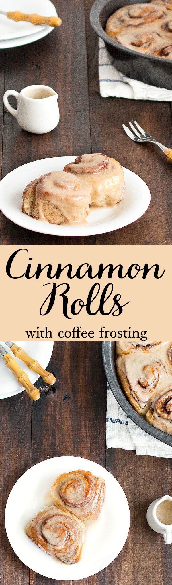 Pioneer Woman's no-knead cinnamon rolls: soft, fluffy and exactly what you look for in a cinnamon roll. You can make the dough 2 days ahead
