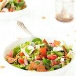 Fattoush- traditional Lebanese salad