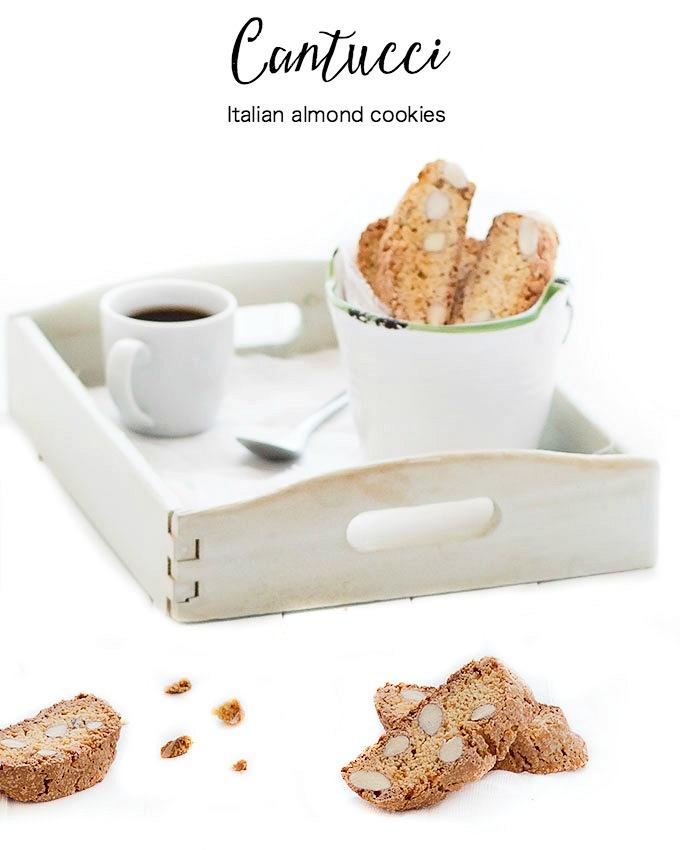 cantucci - Italian almond cookies
