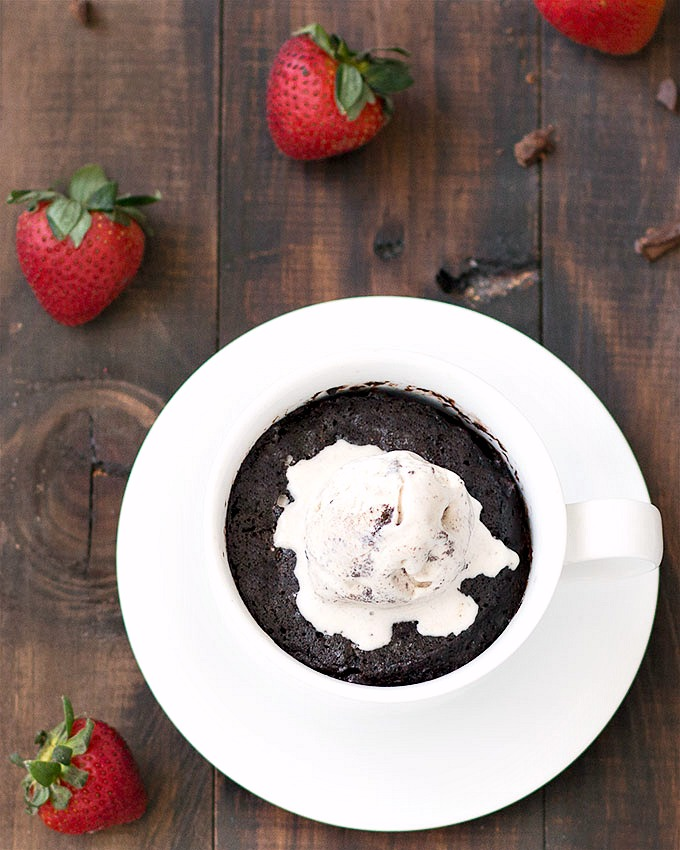 How To Make A Cookies And Cream Mug Cake