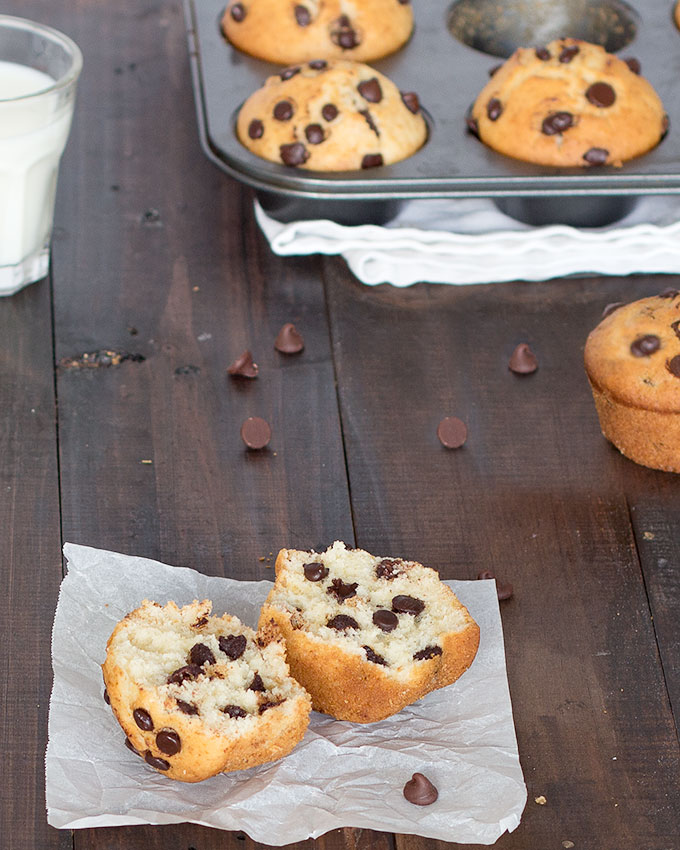 ... start off the weekend than with bakery-style chocolate chip muffins