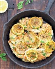 5 ingredient lemon chicken