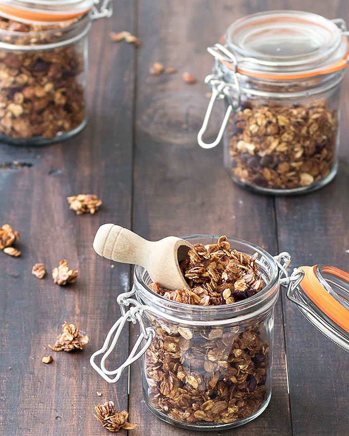 Homemade Vanilla Almond Granola- amazingly delicious and very simple to make