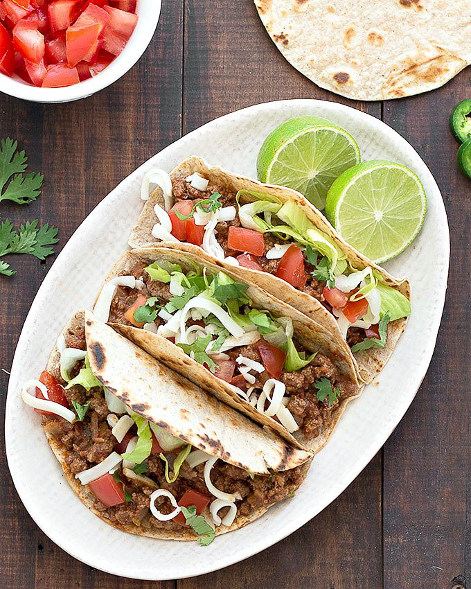 Easy Ground Beef Tacos As Easy As Apple Pie