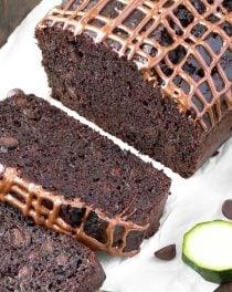 easy double chocolate zucchini bread