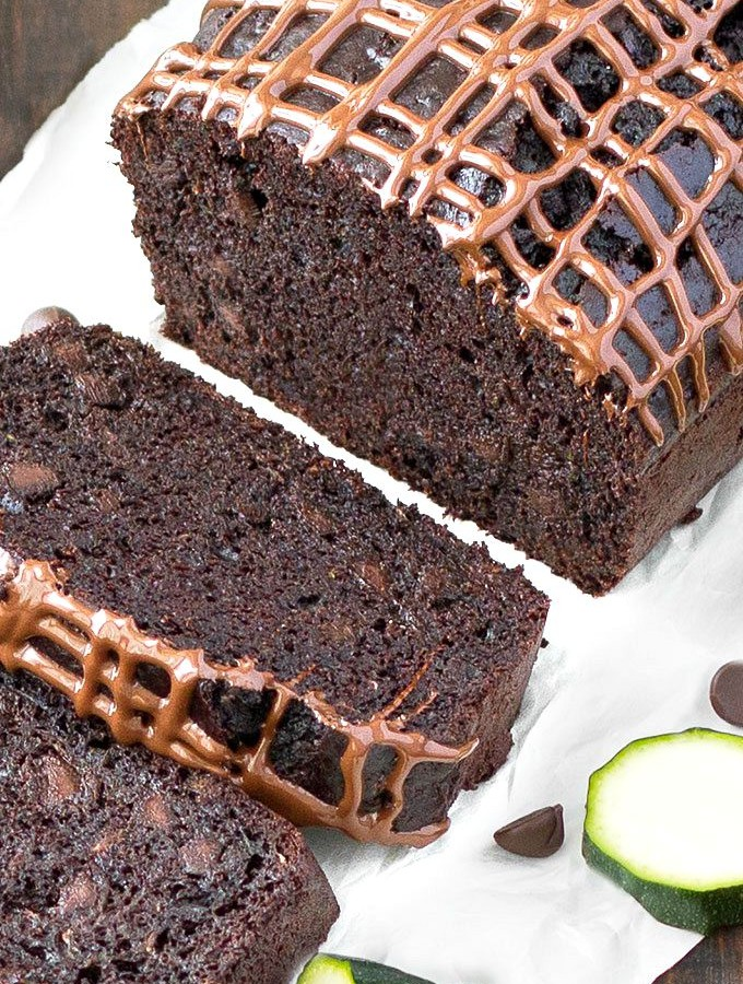 easy double chocolate zucchini bread
