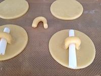 shortbread mug lid cookies