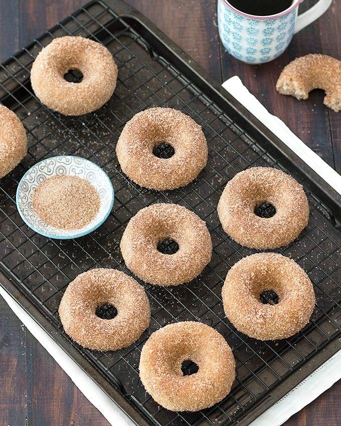 Baked Cinnamon Sugar Donuts As Easy As Apple Pie