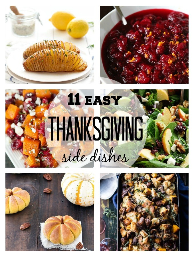 11 Easy Thanksgiving Side Dishes