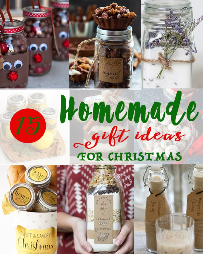 Christmas homemade gift ideas from the kitchen