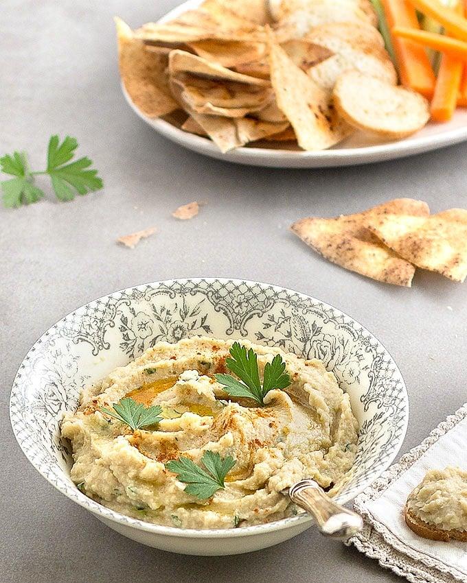 Artichoke And White Bean Dip