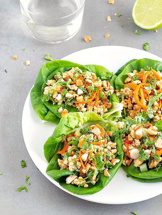 Healthy Asian Chicken Lettuce Wraps As Easy As Apple Pie