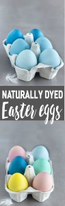 How To Dye Easter Eggs Naturally - This year skip the toxic store-bought dyes. Use natural ingredients to create pretty pink, yellow, blue and green Easter eggs.