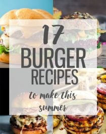 17 amazing burger recipes