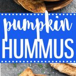 If you have pumpkin puree on hand, whip up a batch of this savory pumpkin hummus. Pair it with pita bread, crackers or veggie sticks and you have a delicious snack or appetizer ready in 5 minutes