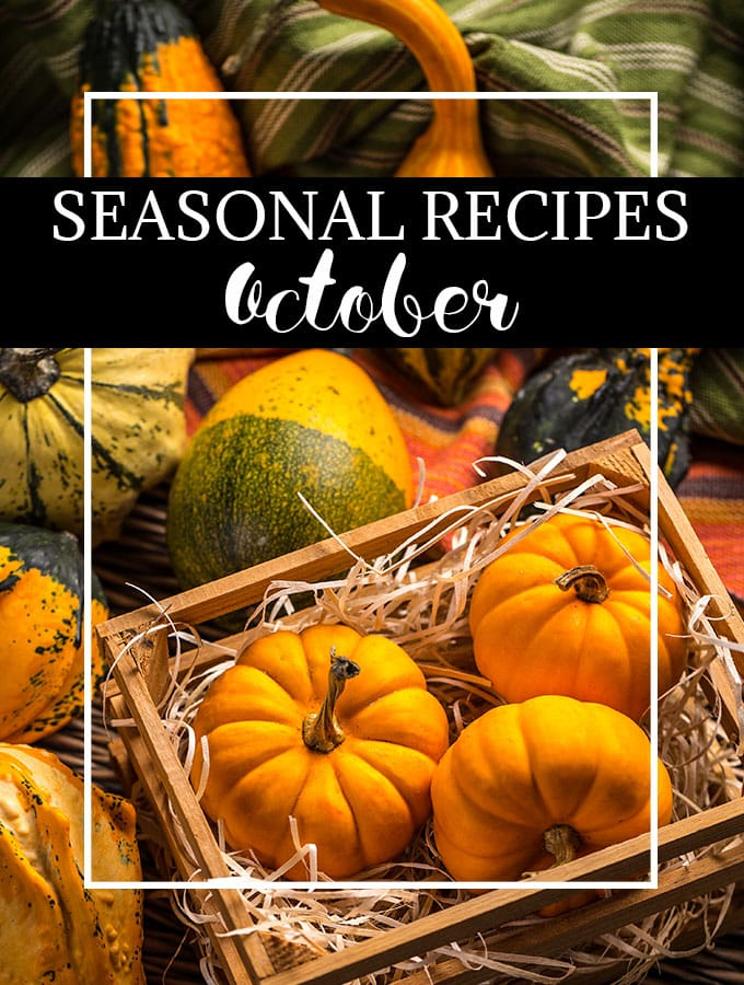 What to Cook in October - As Easy As Apple Pie