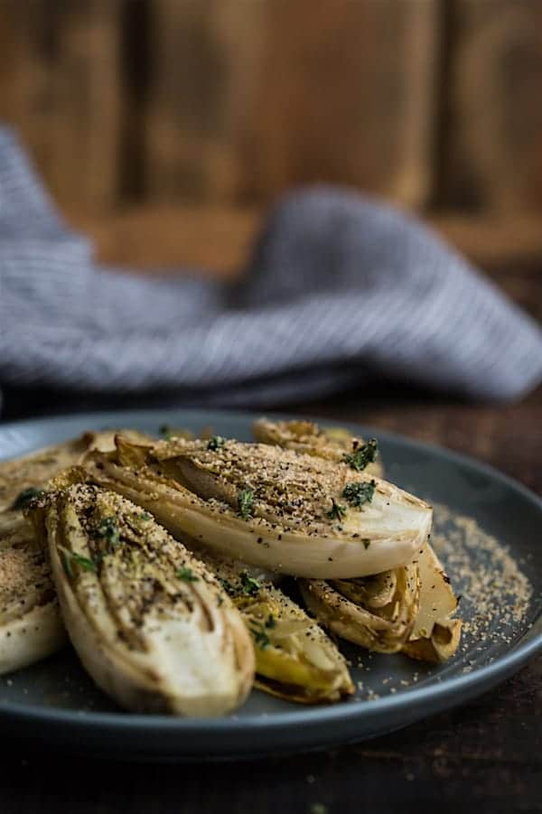 What to Cook in November - Take advantage of the seasonal bounty of winter squash, beets, and apples with these easy and tasty recipes. Roasted endives with thyme recipe