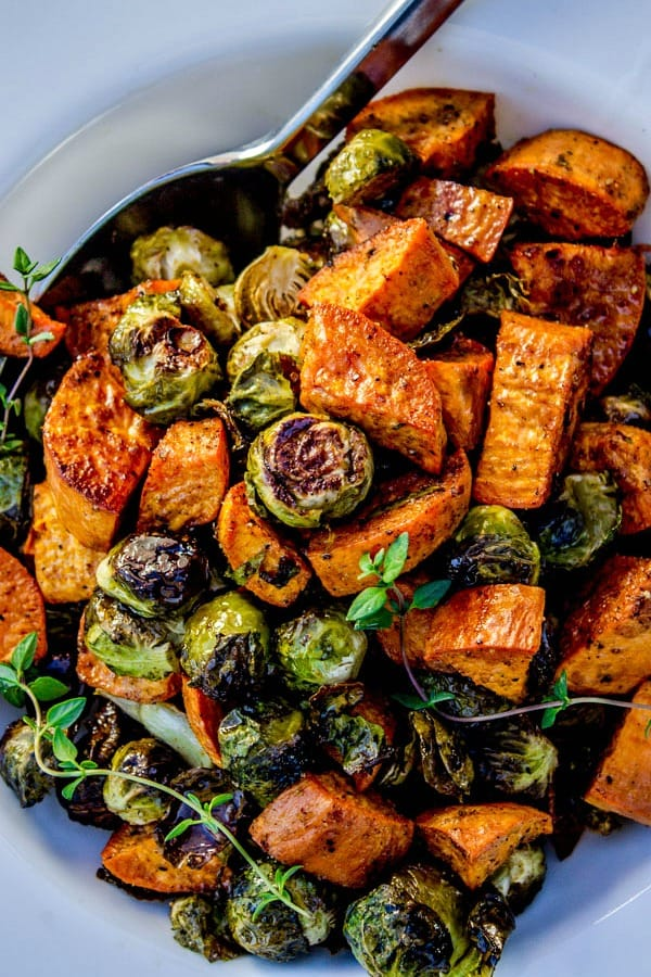 What to Cook in November - Take advantage of the seasonal bounty of winter squash, beets, and apples with these easy and tasty recipes. Roasted sweet potatoes and butternut recipe