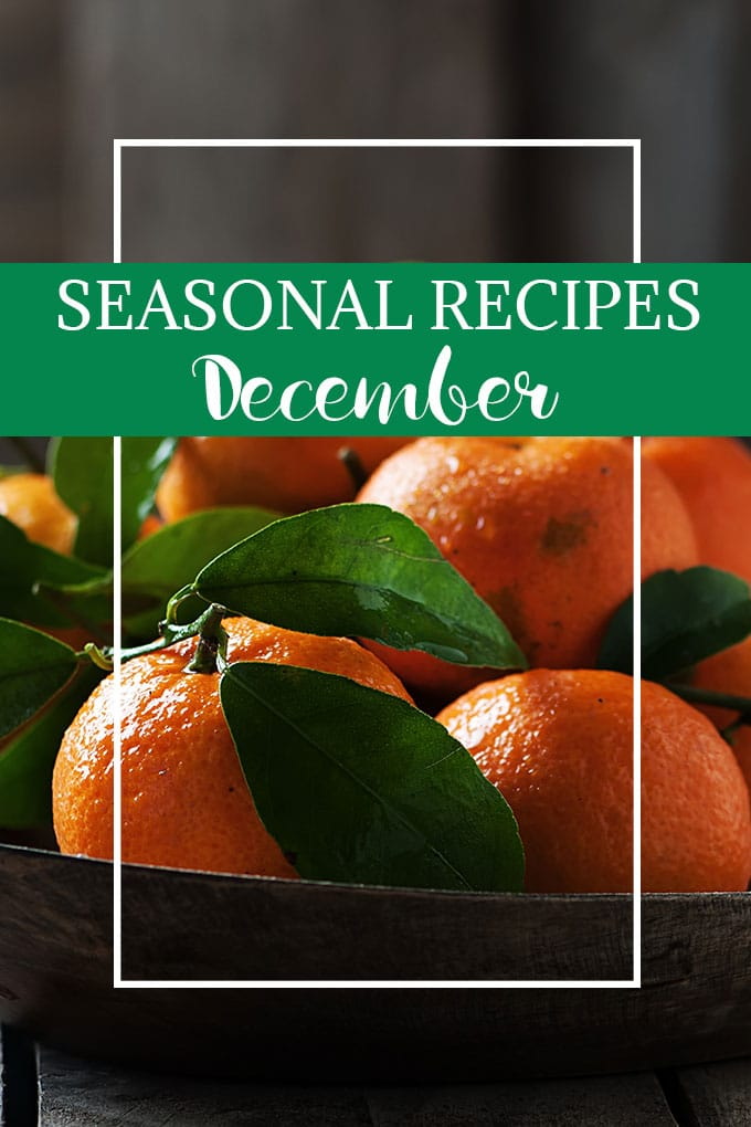 What to Cook in December - make the most of the seasonal bounty of Brussels Sprouts, root vegetables, and citrus fruits with these simple and delicious recipes. As Easy As Apple Pie.