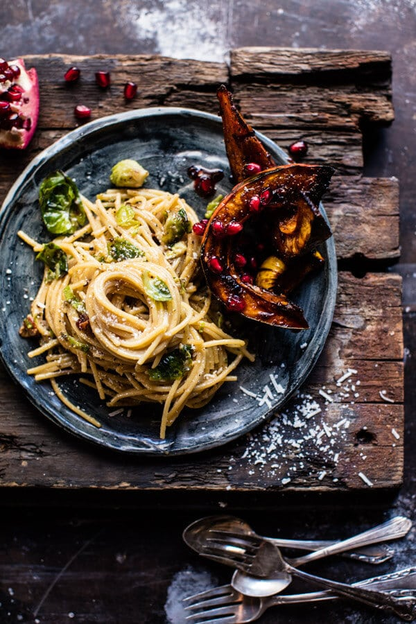 What to cook in January - Stock up on January's produce, and try these unique and delicious seasonal recipes! Brussels Sprouts Carbonara