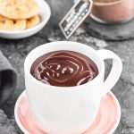 This Italian hot chocolate mix is extra thick, creamy and SO delicious! Make a big batch and wrap it in jars to give as gifts to friends and family!