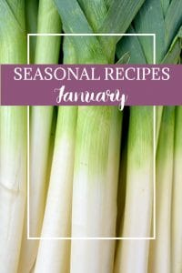 What to cook in January - Stock up on January's produce, and try these unique and delicious seasonal recipes!