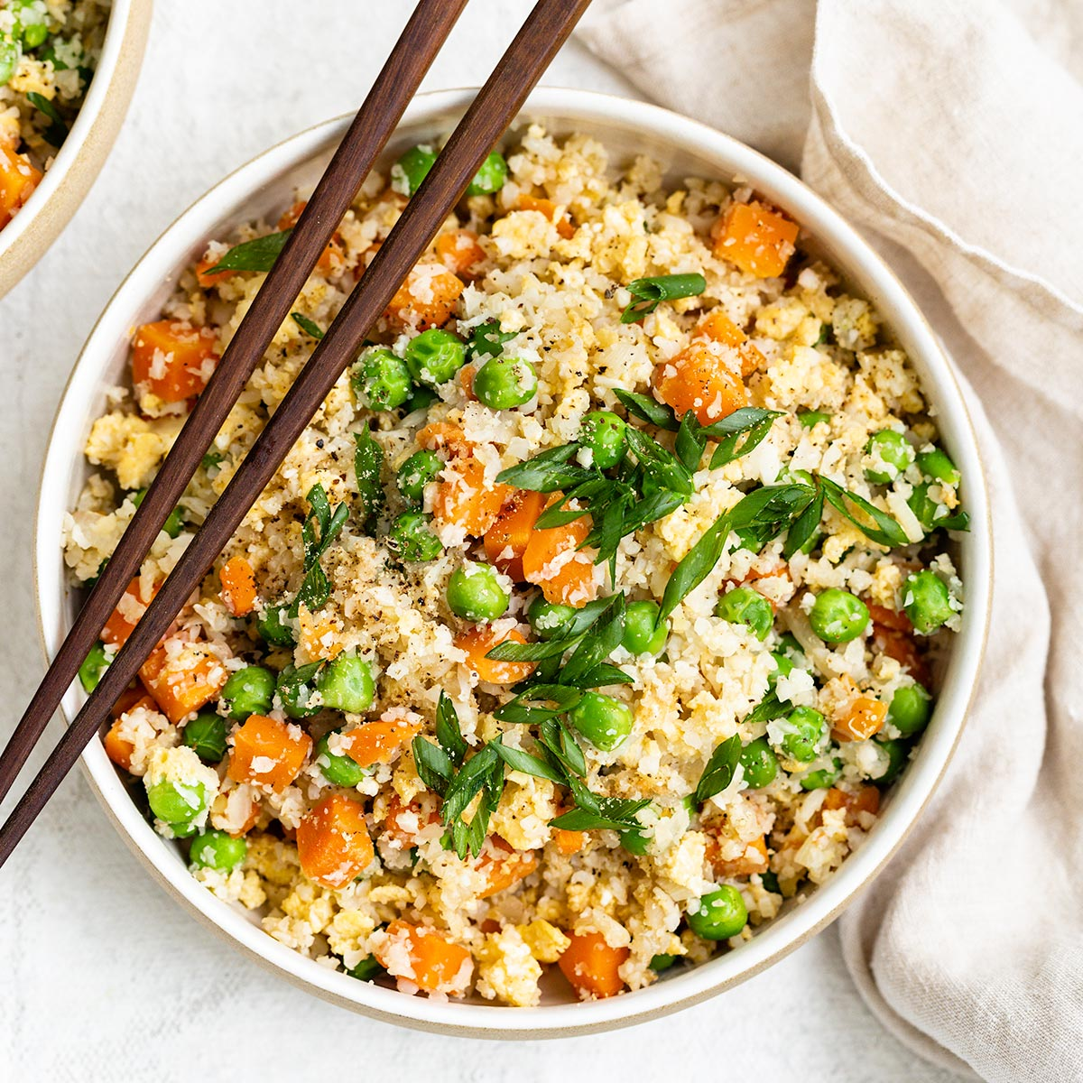 Quick Easy Cauliflower Fried Rice Recipe As Easy As Apple Pie